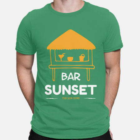 Camiseta Bar sunset