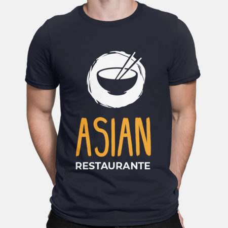 Camiseta Restaurante Asian