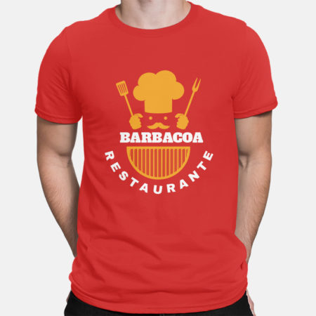 Camiseta Barbacoa Restaurante