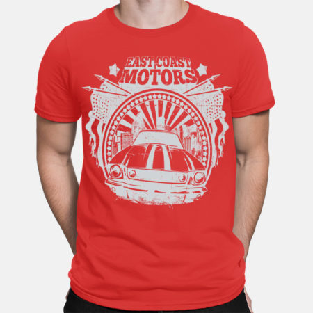 Camiseta east coast motors