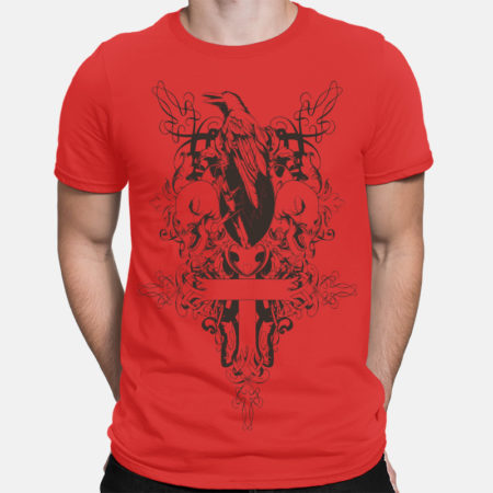 Camiseta raven cross